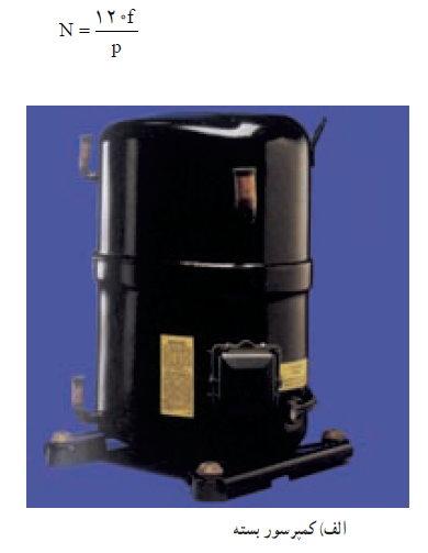 انواع الکتروموتور یخچال معمولی و فریزر